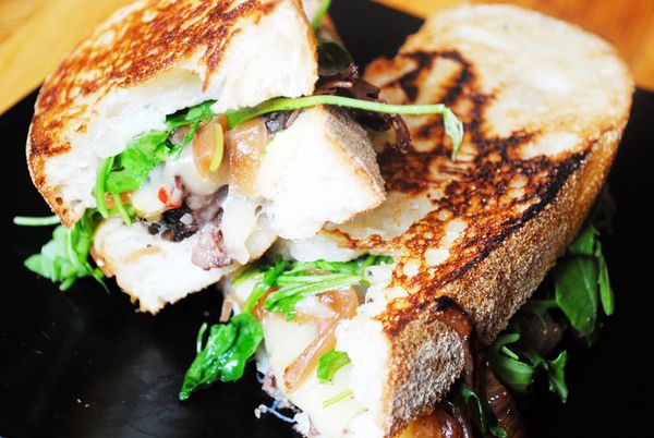 Grilled Cheese and Braised Short Rib Sandwich with Pickled Caramelized ...