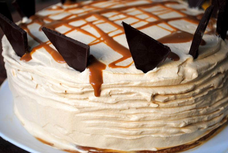 Dulce de Leche Cake with Dulce De Leche Whipped Cream. Revised for ...